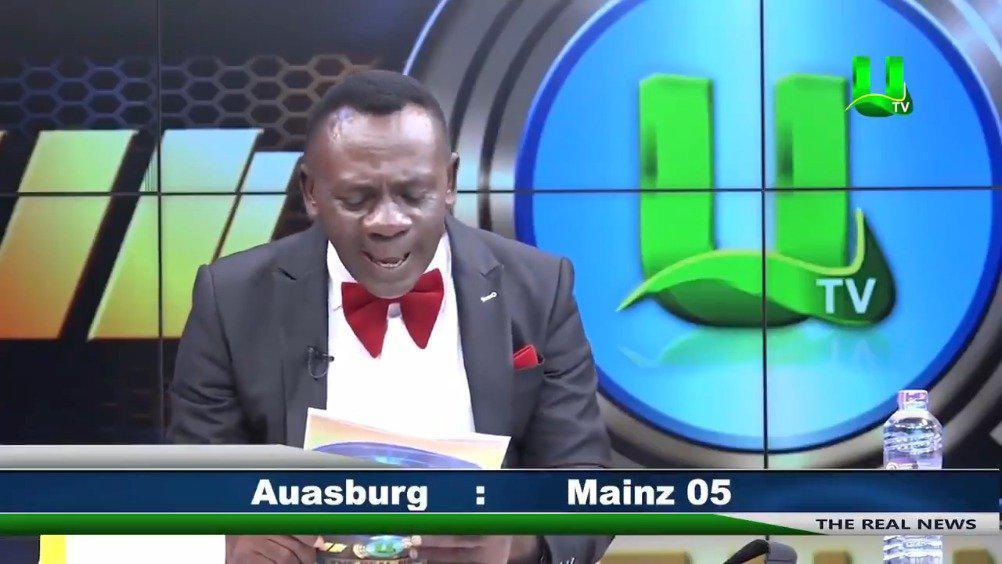 他回来了,加纳主持人用英语播报德甲比分战报…………