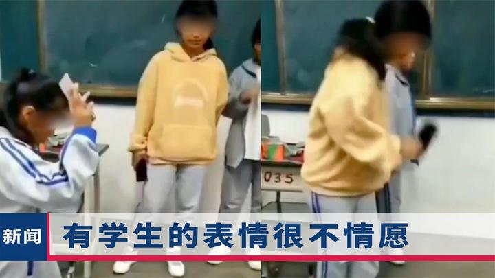 """""""继续砸""""云南一女教师让学生排队摔手机被停课,人民网早有先言"""