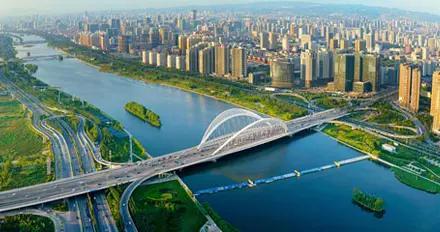 赏汾河之桥,读并州历史,看锦绣太原