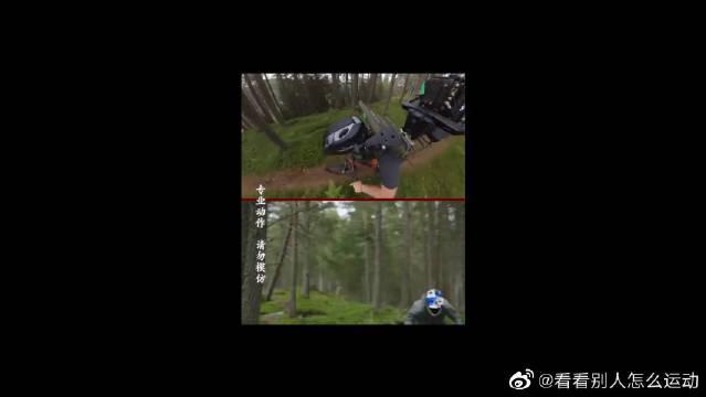 你看到的骑车视频都是这样拍的,原来摄影师才是高手