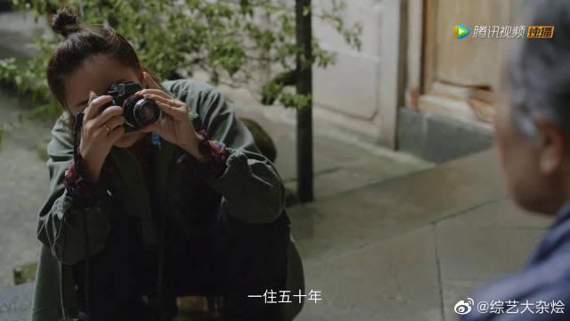 张歆艺用相机记录素人 好的情感就是一种归属感~