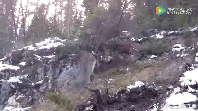 山体滑坡实拍合集,好恐怖的自然灾害