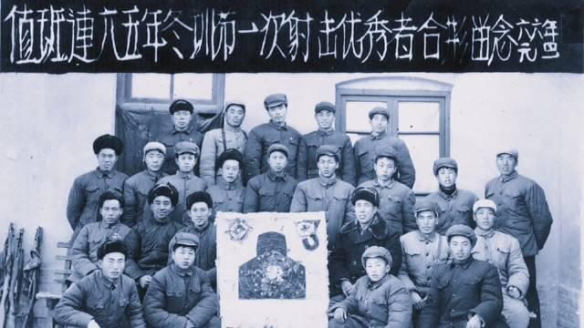 这是组建于二十世纪六十年代的新疆兵团值班民兵连……