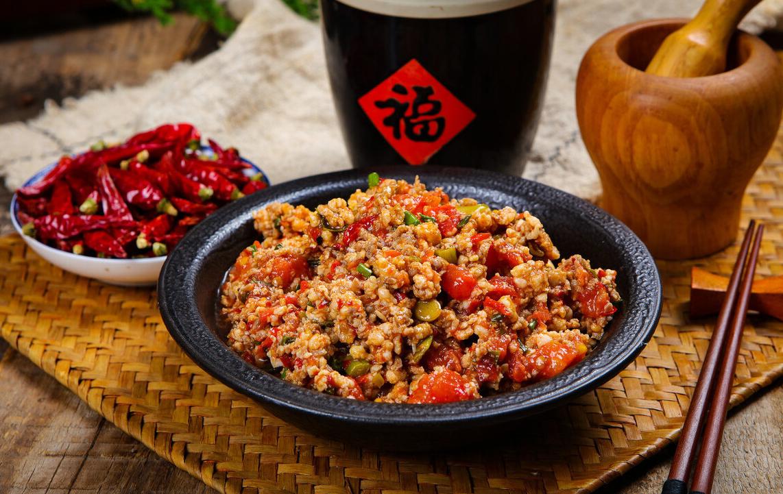 西红柿炒肉末,酸甜入味,营养丰富,超美味的家常菜,孩子特爱吃