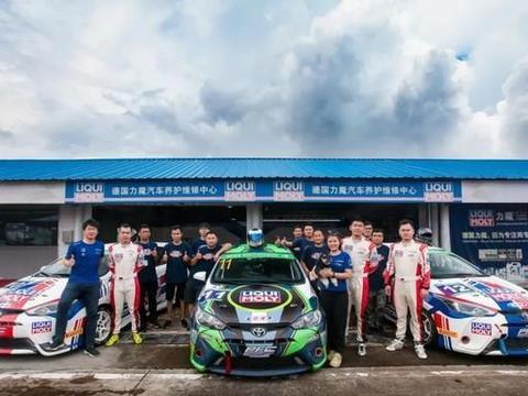 力魔基亚车队派出3辆丰田雅力士赛车出战,冲刺ZMA年度冠军