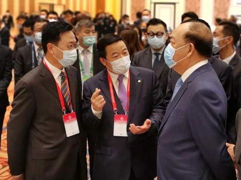胡国丹出席第11届国际基建论坛,贺一诚希望与中交集团加强合作