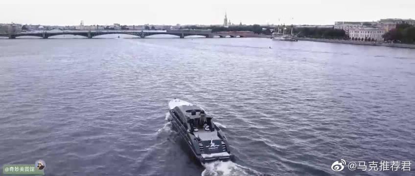 航拍俄罗斯圣彼得堡SaintPetersburgAerialTimelapsein