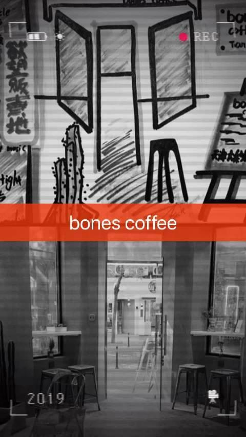 博主@Dazzzze 用马克笔手绘天津那些有态度有温度的咖啡店…………