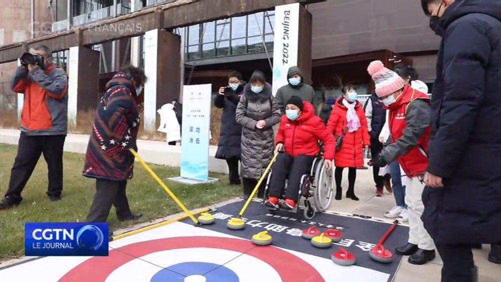 """第五届""""中国残疾人冰雪运动季""""在京举办"""