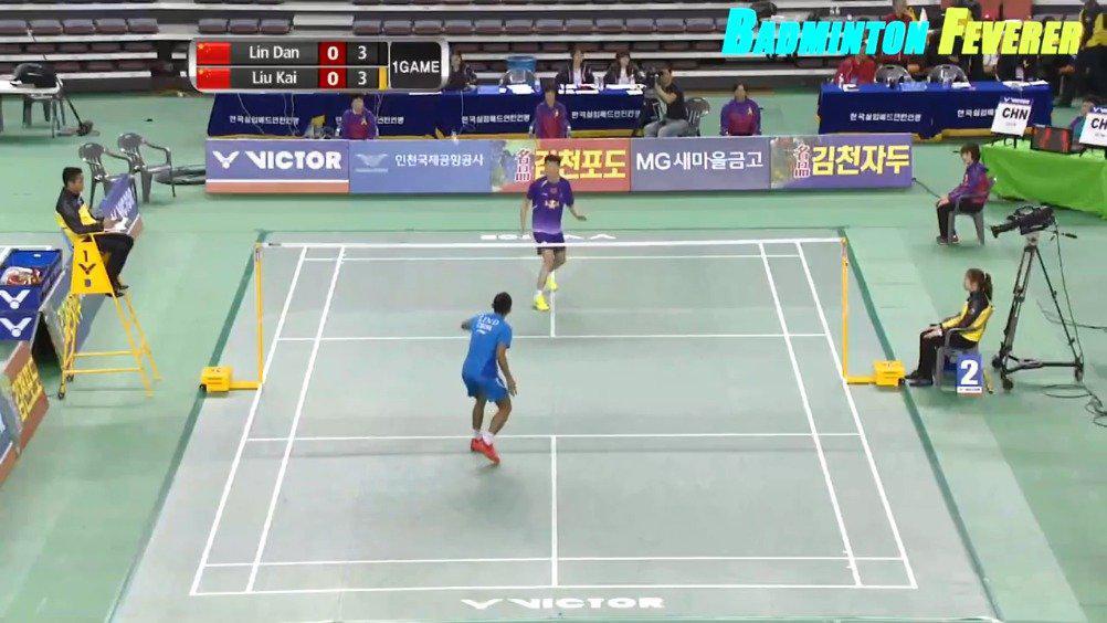 2014年亚锦赛男单半决赛 林丹vs刘凯