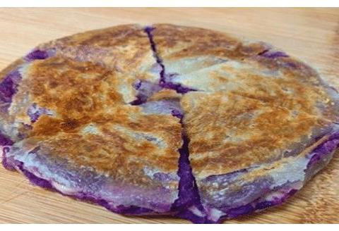 酥脆的紫薯饼好做,不同的人做出来的味道不一样,但步骤都差不多