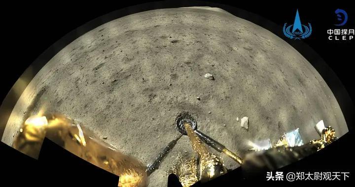 拍1亿像素月球照,嫦娥五号让西方惊叹!美媒:中美应联合登月