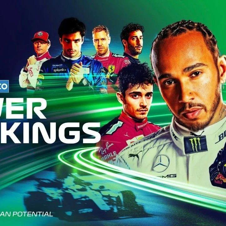【F1】巴林大奖赛车手实力榜更新,四队四人上9分