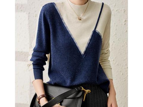 """寒露后的秋季穿搭,非这件""""针织衫""""不可,又暖又温柔,特别清新"""