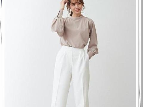 15种很流行的通勤裤装搭配示例!简洁、干练、知性,气质出众