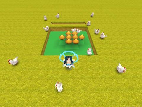 迷你世界小鸡怎么抓最简单?看大神4步制作地洞陷阱,一抓一个准