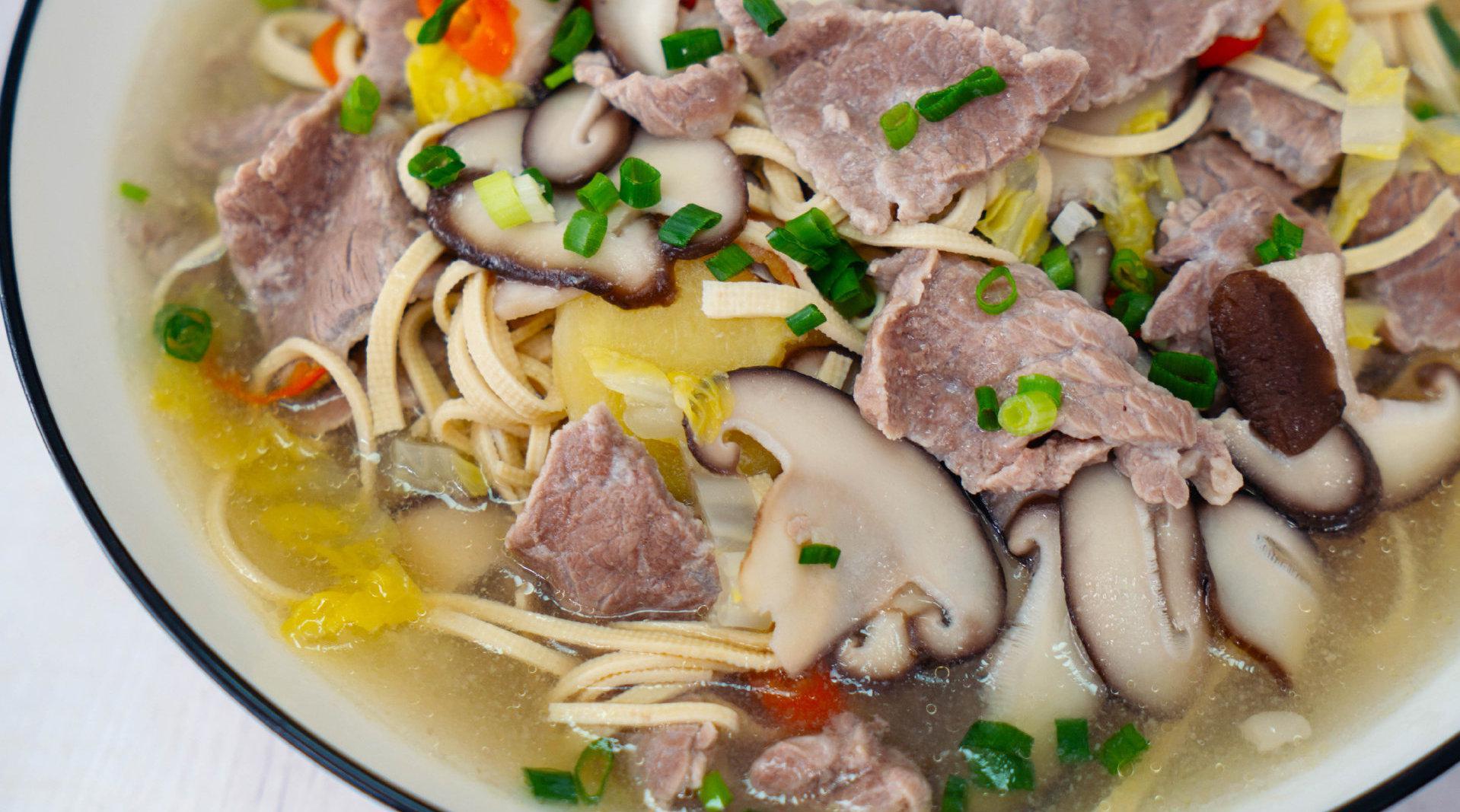 今日美食——超嫩牛肉汤