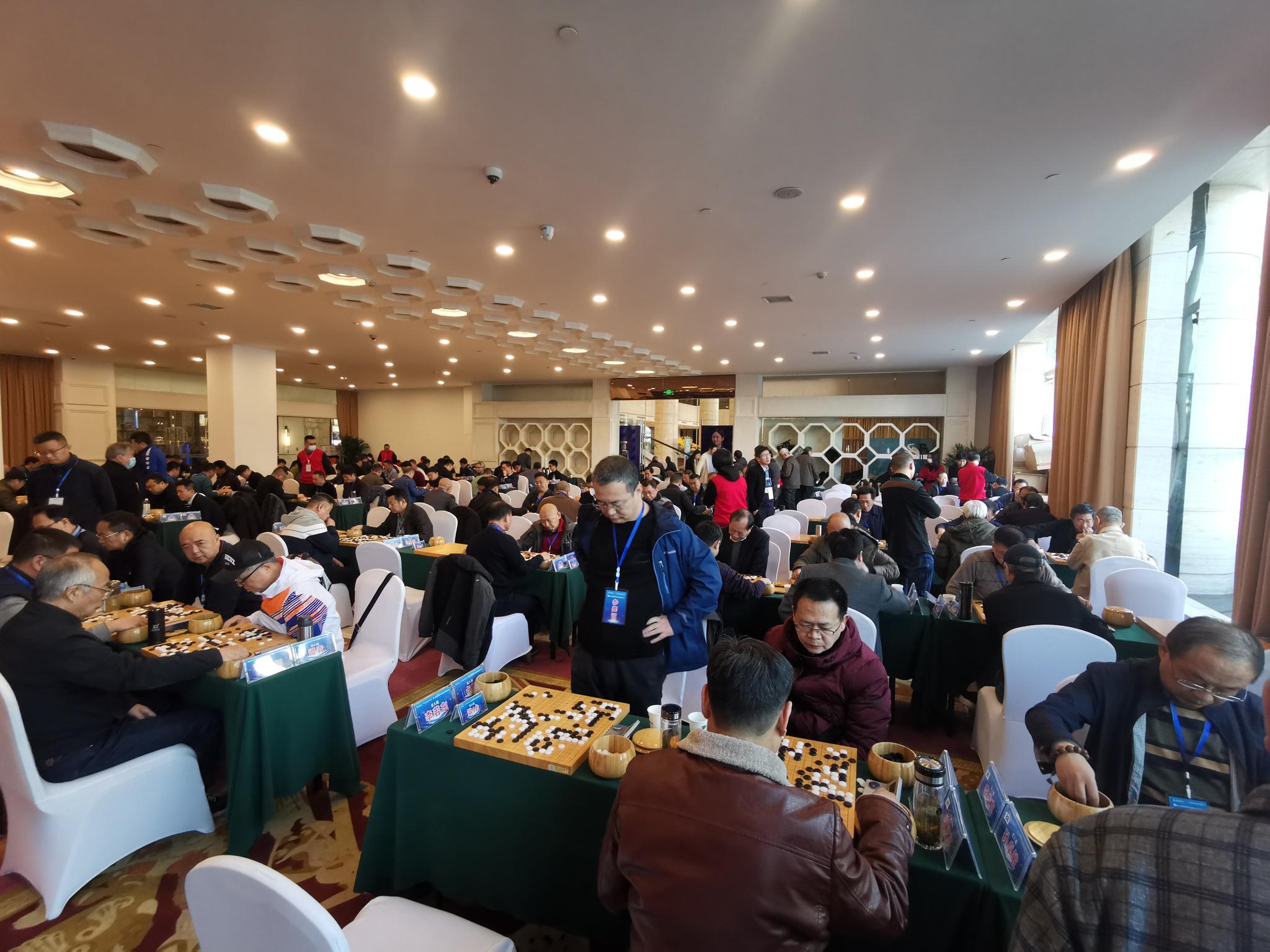 第三届全国业余围棋大赛洛阳开赛