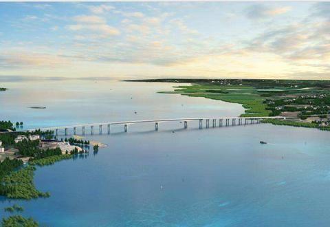 广西在建一座大桥,长5.03公里,预计4年完工,促进广西经济大发展