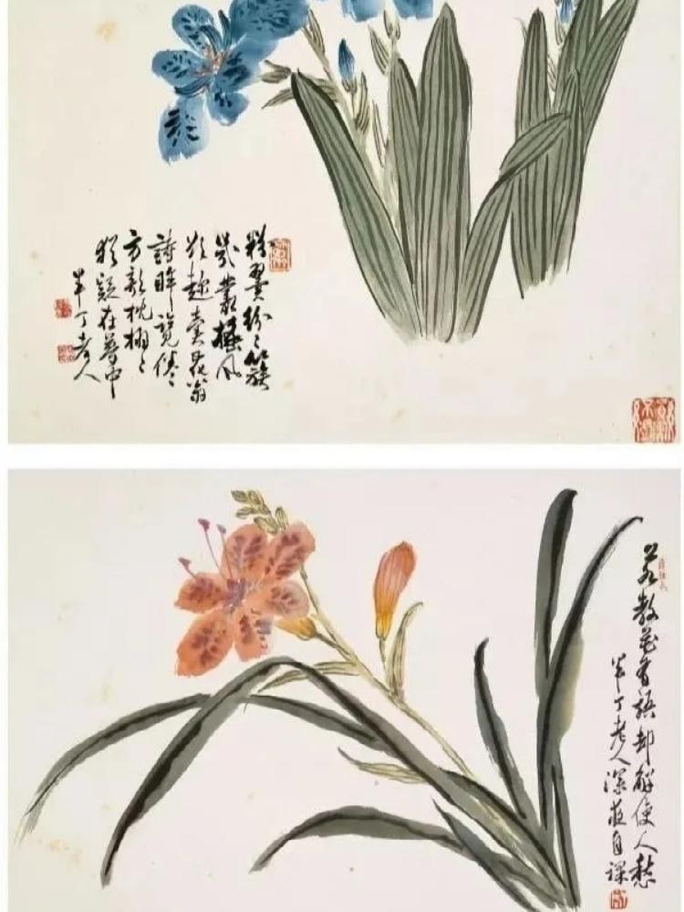 陈半丁先生,绘画既脱俗清新又充满文人雅趣…………