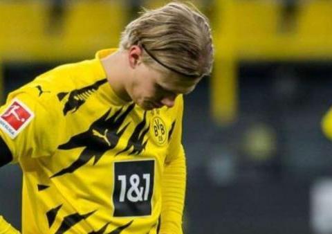 多特蒙德足球俱乐部确认哈兰德腿筋受伤
