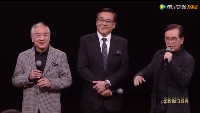 童年TVB三大男神同框了!尔冬升导演在两位哥哥中间像个小孩子