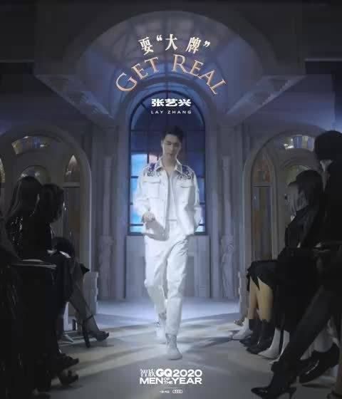"""张艺兴智族GQ MOTY年度人物""""耍大牌"""" 「Hello,2021!……"""