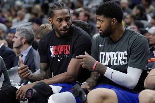 NBA快艇队保罗乔治甩锅前教练,退役球员帕金斯讽他是懦夫