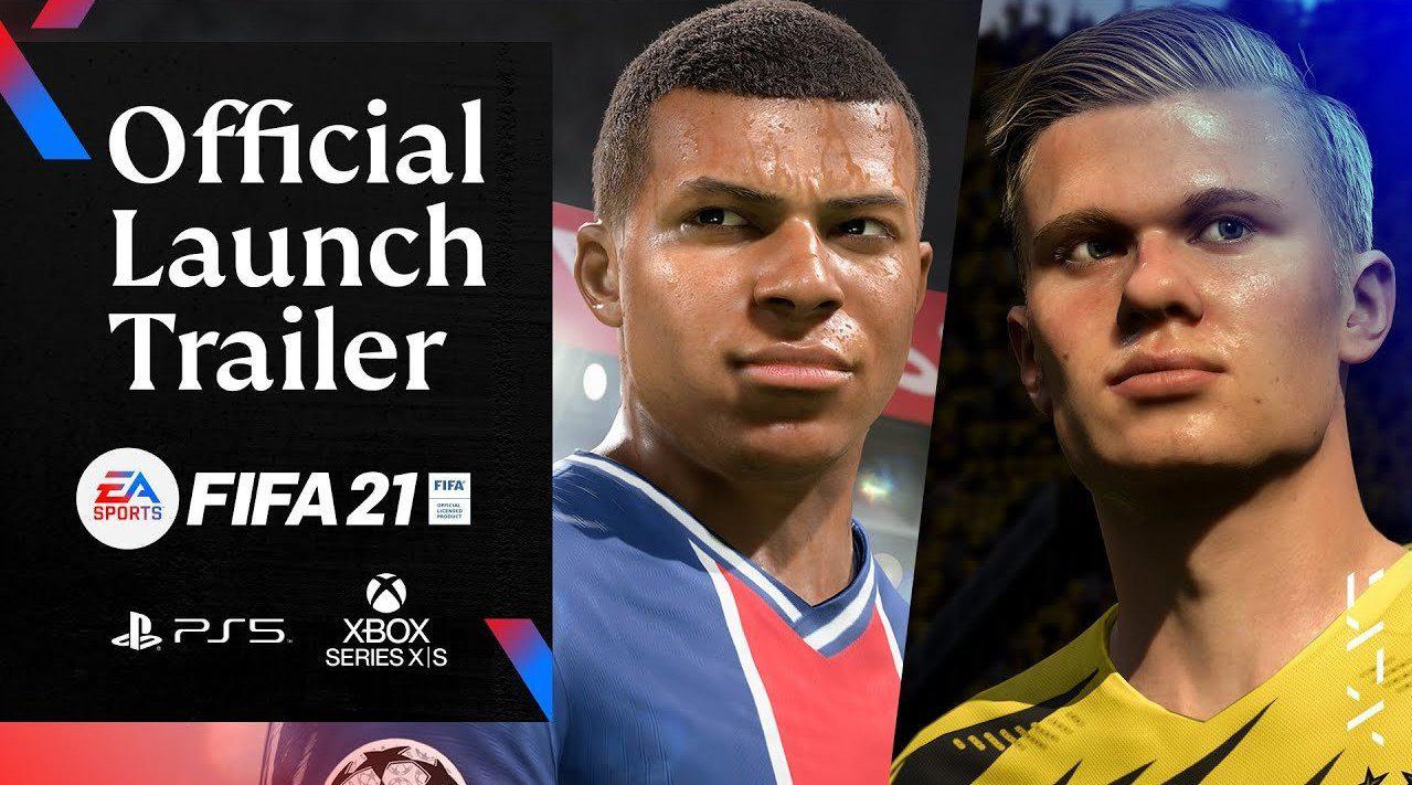 EA SPORTS《FIFA 21》已经于12月4日推出PS5与Xbox Series X……