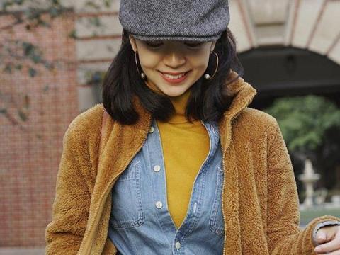 """三木不止配色厉害,毛衣的""""叠穿""""才真让人惊艳,高级百搭又气质"""