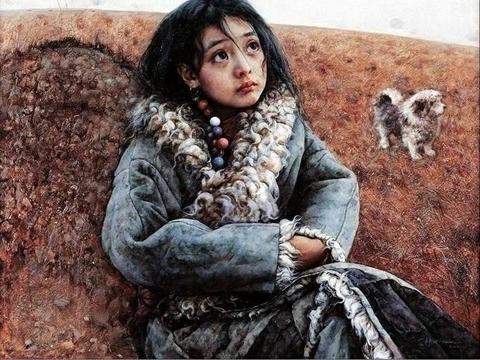 大诗人艾青之子艾轩:画作苍凉荒寒、凄清宁静