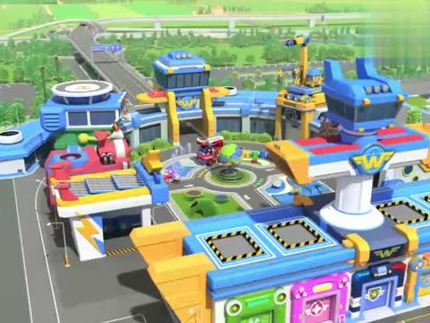 超级飞侠:乐迪有新任务啦,前往波特兰市,那里有很多快餐车哦