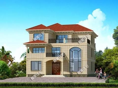 宽13米左右,建在江西和湖南的两栋别墅,精品户型助你圆建房梦