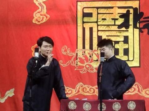 孟鹤堂周九良空降二队演出,被调侃是为了庆祝谢金生二胎