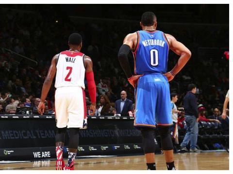 NBA版本卧龙凤雏?沃尔与威少过去5年跳投命中率联盟倒数前二