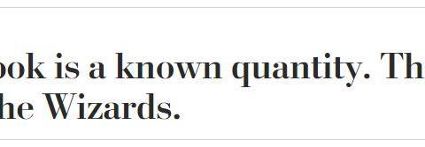 某高管称韦少更配比尔,奇才是赢家!比尔采访已暗示韦少该让权