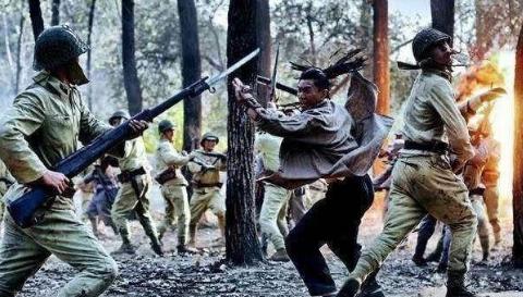 日本二战凭借刺刀术亚洲横行,没成想遇到美军却成了白给
