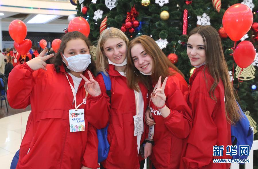 白俄罗斯举行活动迎接国际志愿者日