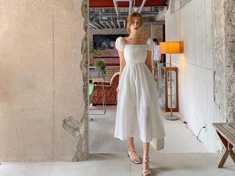 超美的仙女裙穿搭,学习韩剧女主角的搭配风格呀