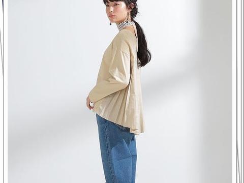 不同颜色牛仔裤的秋季15种搭配,简单但时髦的日系轻熟穿搭参考