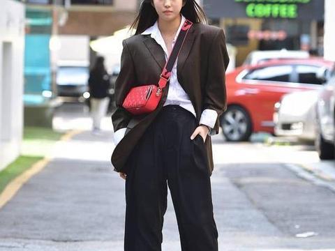 高级清冷范穿搭,秋季时尚秘诀,个性女孩快快学起来