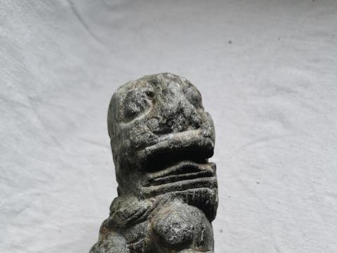 宋元时期石雕小狮子