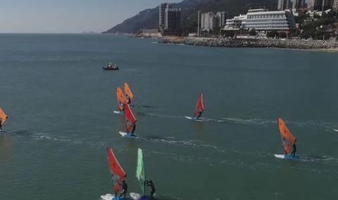 汕头南澳岛运动员扬帆起航,乘风破浪