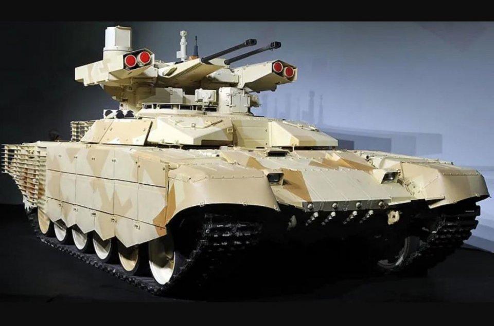 俄军终结者战车登场,强大火力凶猛至极,但并不值得解放军借鉴!