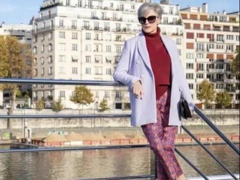 中老年女人也可以很时髦 看看法国的60岁时尚奶奶 优雅有气质