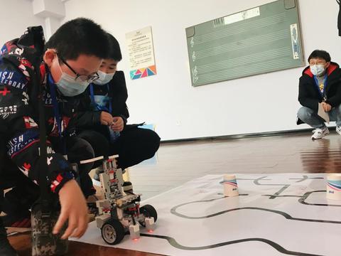 2020年涿州市首届青少年智能机器人大赛隆重举办