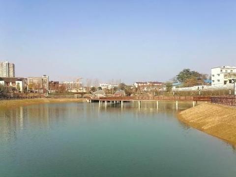 太康县修建了一年的人工湖,看看成啥样了
