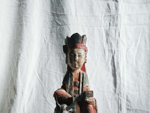宋元时期木雕观音菩萨造像