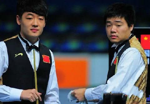 中国名将4-1胜眼镜侠,田鹏飞轰129+104分
