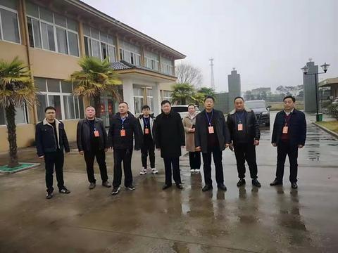 霍邱县马店镇人大开展重点项目建设调研活动